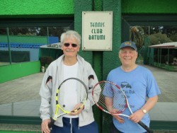 Batumi Tennis Club - Professor Csaba Forgacs & Paul Hacking