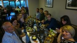 Dinner in Colchester