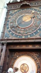 Astrological clock inside Marienkirche