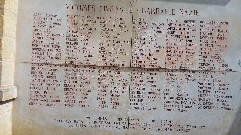 War Memorial Sarlat