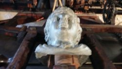Princess Diana pipe figurehead