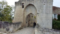 Medieval entrance to St Emilion