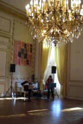 Inside Bordeaux town hall