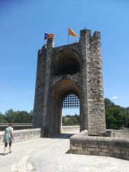 Romanesque bridge, Besalu