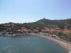 Collioure sea bay