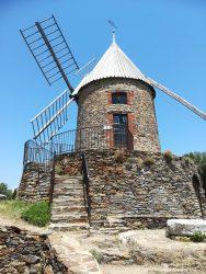 14th century windmill, Collioure