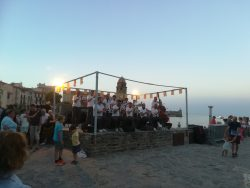 Traditional singing at the St Joan Festival