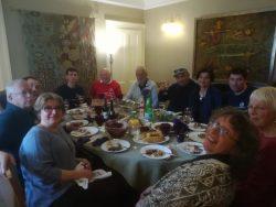 Georgian feast in Nairn