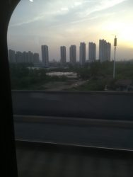 High rise apartments in Chinese countryside