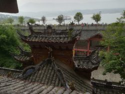 A view of the Pagoda overlooking the Yangtze