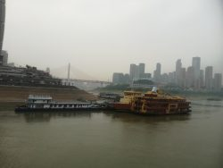 The harbour of Chongqing