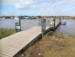 Walberswick Ferry jetty
