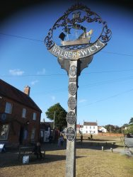 Walberswick village centre