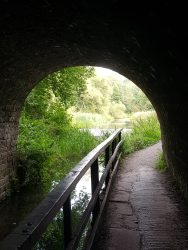 The tunnel at Cromford canal