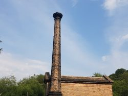 The chimney at Leawood Pump House