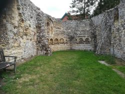 The ruins of Dunwich Leper Capel
